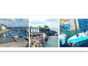 Photos du concours de godille sur l'ile de groix