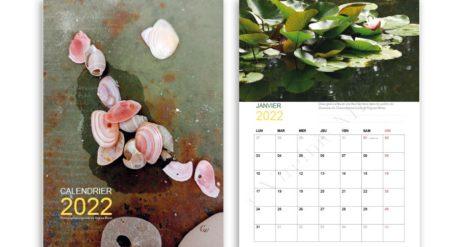 Calendrier 2022 - Images originales de Virginie Minot